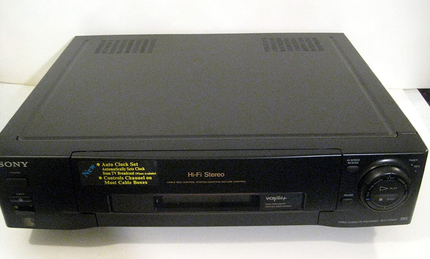 B00DRJH2TS SONY 770HF VCR Stereo Advanced Features 91OAQTR2h8L.SL1500_