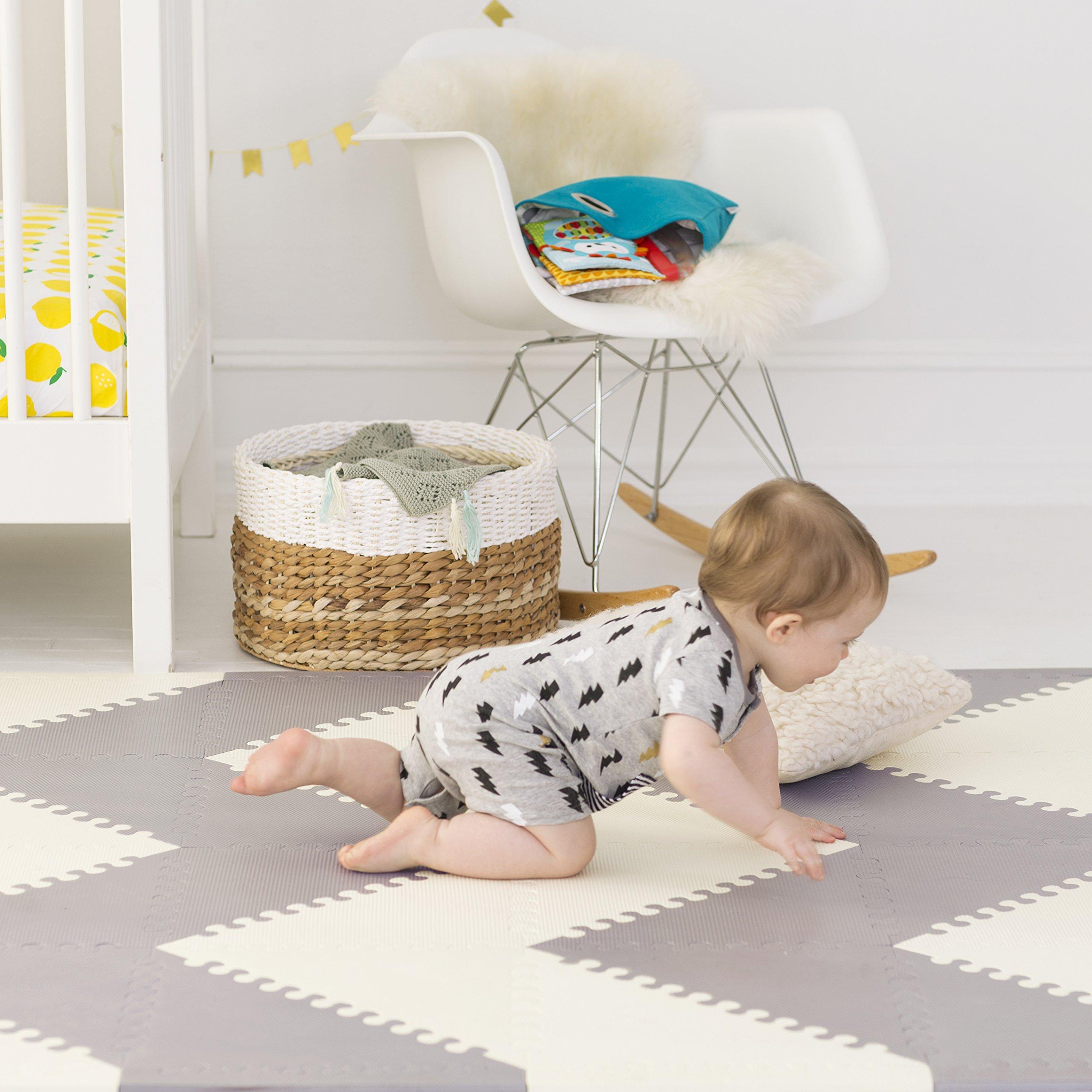 Skip Hop Playspot Interlocking Foam Play Mat For Babies