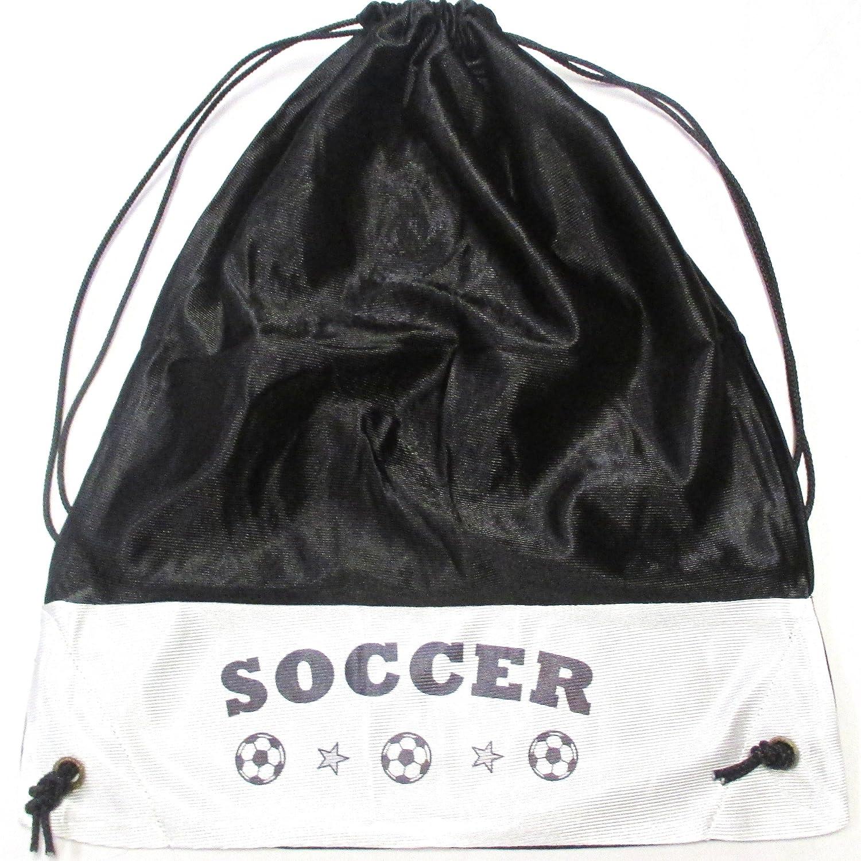 Soccerトートバッグ – 多くの色 B001UBA5QC ブラック ブラック