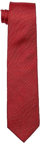 Seidensticker Herren Krawatte TIE, Gr. One size (Herstellergröße: 7cm breit), Rot (rot 48)