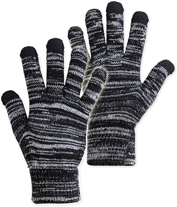 Men Women Fingerless Mittens Gloves Half Finger Convertible Wool Mittens Stretchy Warm Knit Texting Snow Cycling Driving Smartphone Gloves Hand Warmer Laptop Gloves Thermal Magic Gloves Xmas Gifts