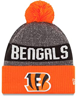 9948b04a Amazon.com: New Era Cincinnati Bengals Reverse Sport Knit NFL 2018 ...