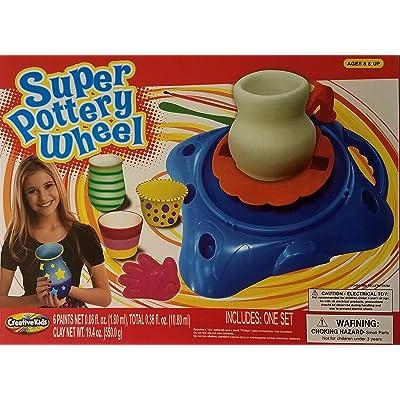 Creative Kids Super Pottery Wheel: Toys & Games
