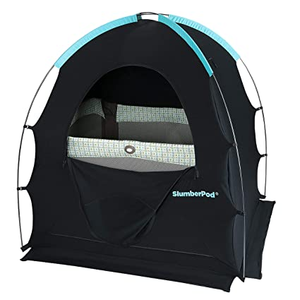 SlumberPod Privacy Pod for Traveling with Babies and Toddlers Easy to Set Up Blackout Dark  sc 1 st  Amazon.com & Amazon.com: SlumberPod Privacy Pod for Traveling with Babies and ...