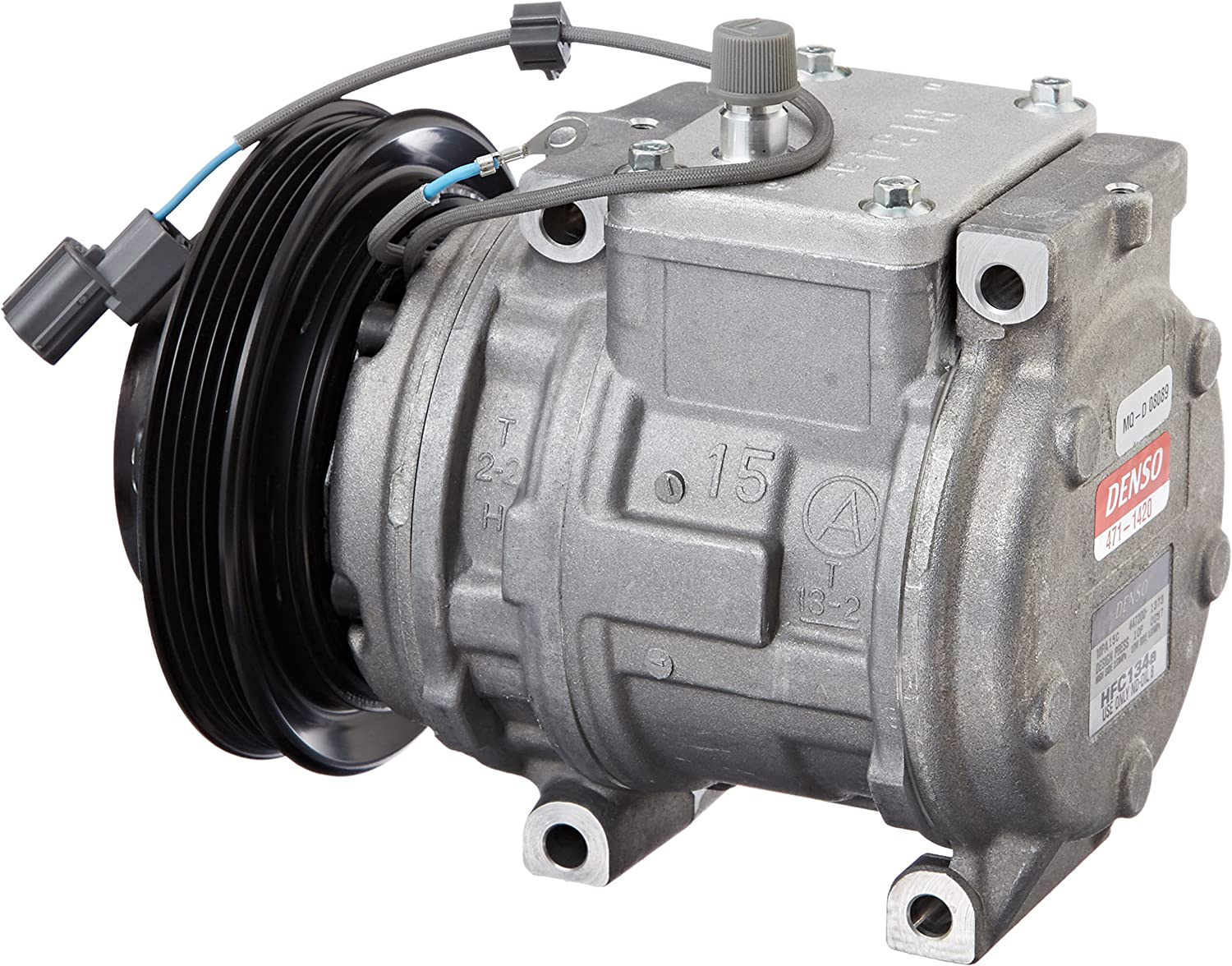 Denso 471-1420 New Compressor with Clutch