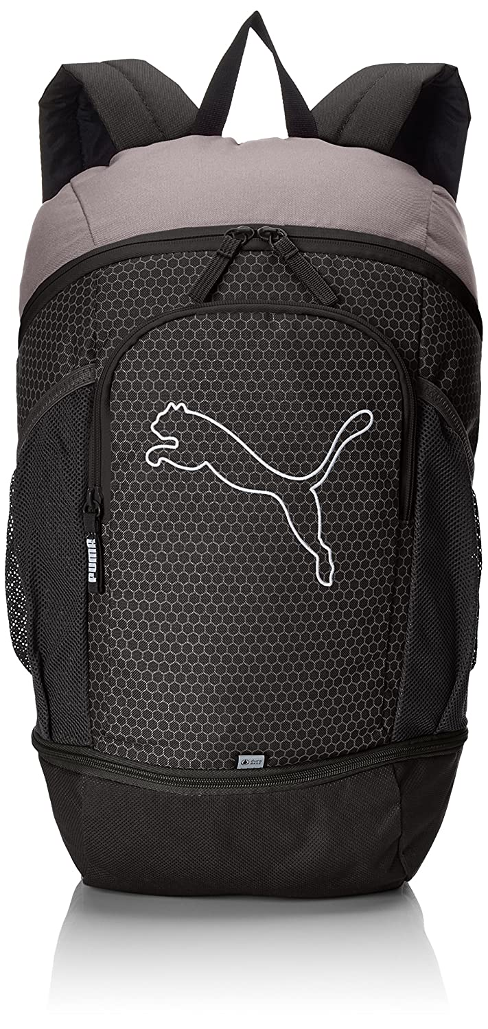 37421481c506 Puma 17 Ltrs Black and Quiet Shade Laptop Bag (7439601)  Amazon.in  Bags