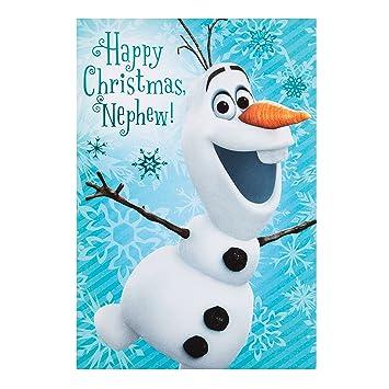 Hallmark Neffe 'Frozen\'-Weihnachtskarte\