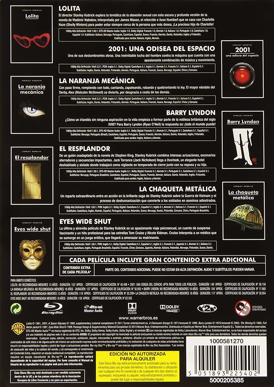 Amazon.com: Kubrick Pack - Steelbook: Movies & TV