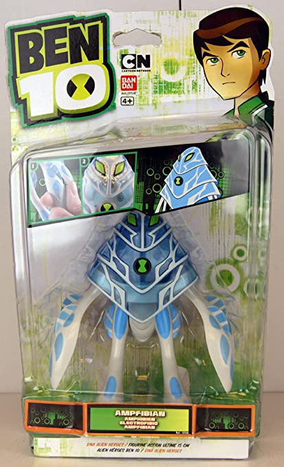 Amazon.com: Ben 10 – 97546 – DNA Alien Heroes – Figura de ...
