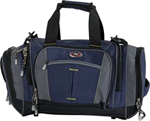 CALPAK Silver Lake Solid 22-inch Carry-on Duffel Bag, Navy Blue,