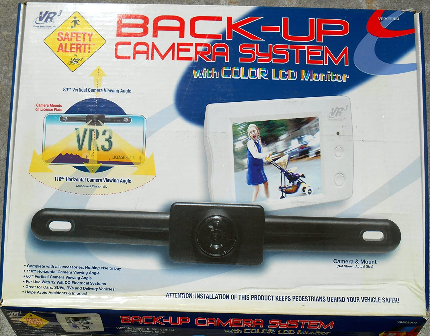 91OAmrFSLdL._SL1500_ amazon com vr3 vrbcs300 back up camera with 2 5 inch lcd color vrbcs300w wiring diagram at crackthecode.co