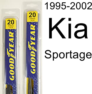 "product image for Kia Sportage (1995-2002) Wiper Blade Kit - Set Includes 20"" (Driver Side), 20"" (Passenger Side) (2 Blades Total)"