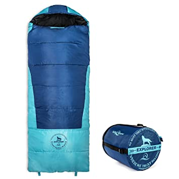Lucky Bums Youth Explorer 30F 1C Comfort Rated Envelope Style