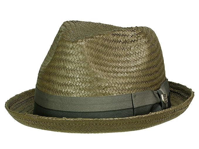96c5854254b4e Brixton - Sombrero de Vestir - para Hombre Negro Negro  Amazon.es  Ropa y  accesorios