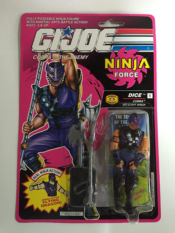 GI Joe Ninja Force Dice