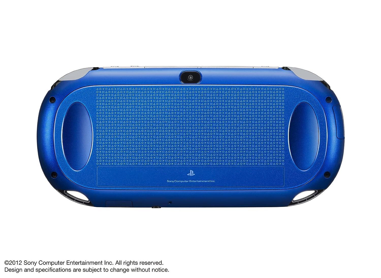Sony PlayStation Vita Sapphire Blue 3G Wi-Fi PCH-1100 Ab04