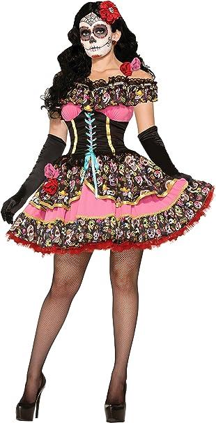 Amazon.com: Forum Novelties Womens Day Of Dead Senorita ...