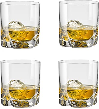 Bohemia 093006143 Trio Bar - Juego de Vasos de Aproximadamente 280ml de Cristal, 4Unidades