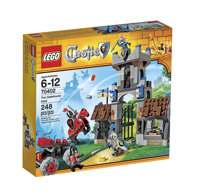 Amazoncom Lego Castle The Gatehouse Raid Toys Games