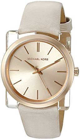 ab4dad977f69 Image Unavailable. Image not available for. Color  Michael Kors Women s  Kempton Grey Watch MK2486
