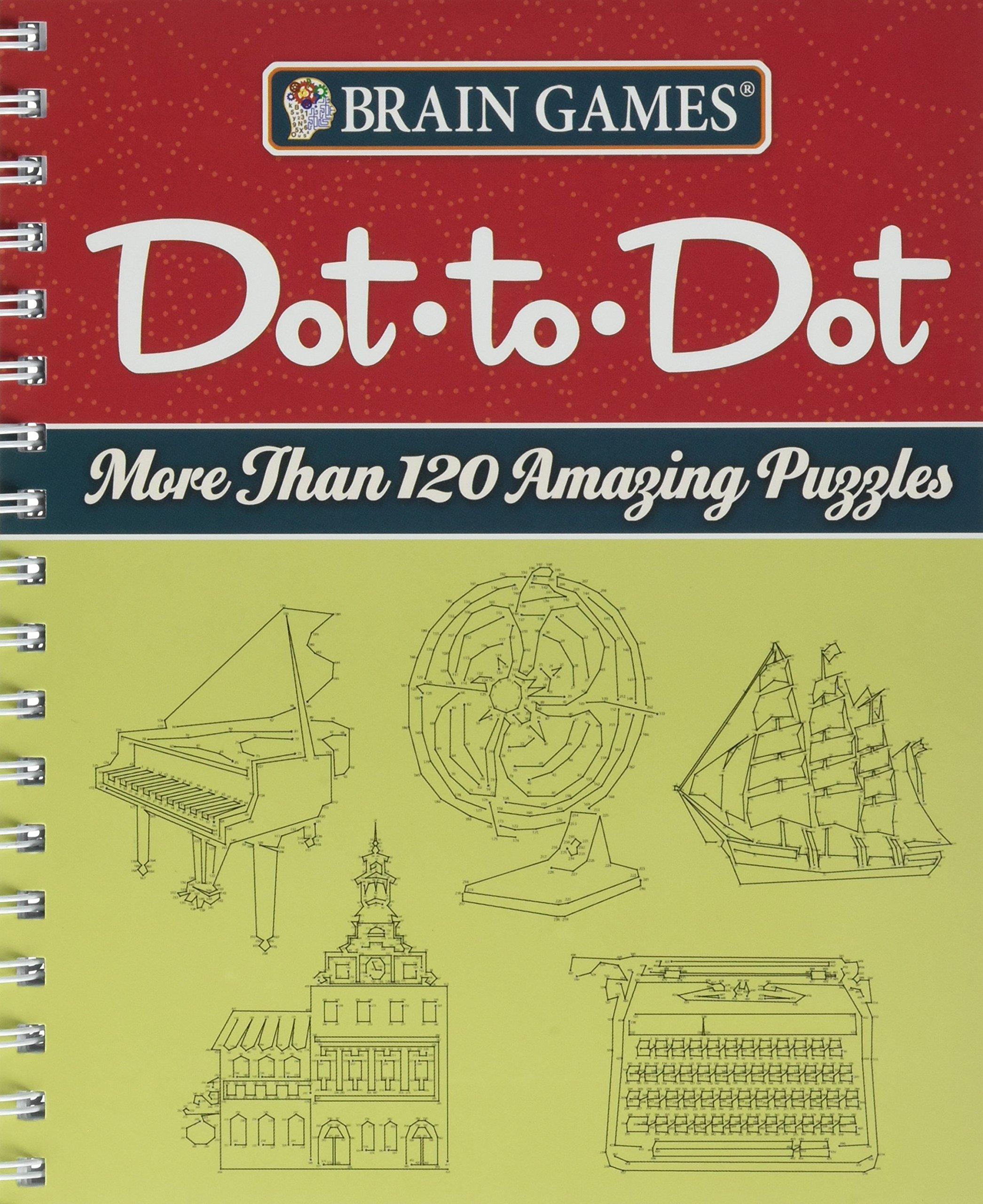 Brain Games® Dot-to-Dot: More than 120 Amazing Puzzles pdf