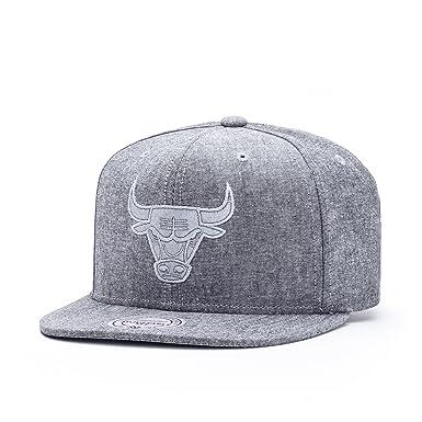 Mitchell   Ness Chicago Bulls Italian Washed Snapback Cappello - Taglia  unica - grey 41a8c2035ddf