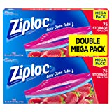 Amazon Price History for:Ziploc Storage Bags Gallon Mega Pack, 150 Count