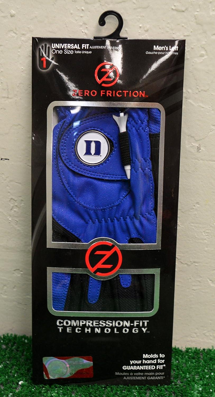 Friction Zero Men s Left Hand Universal Golf Glove – Duke University – Blue
