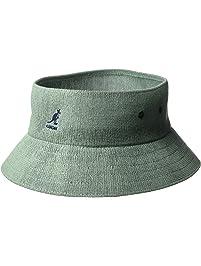 831c621e5d8 Kangol Mens Standard Bamboo Cut Off Bucket Hat Visor