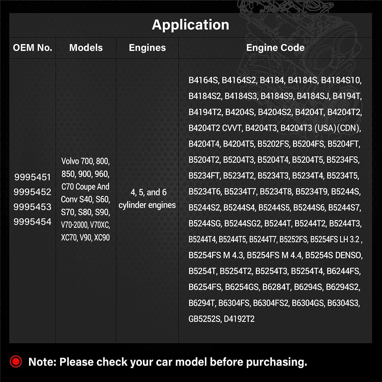 EWK 11pcs Camshaft Engine Alignment Locking Tool for S40 S90 XC70 700 960