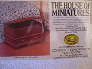 Dower Chest #40034 (C. 1790) - House of Miniatures