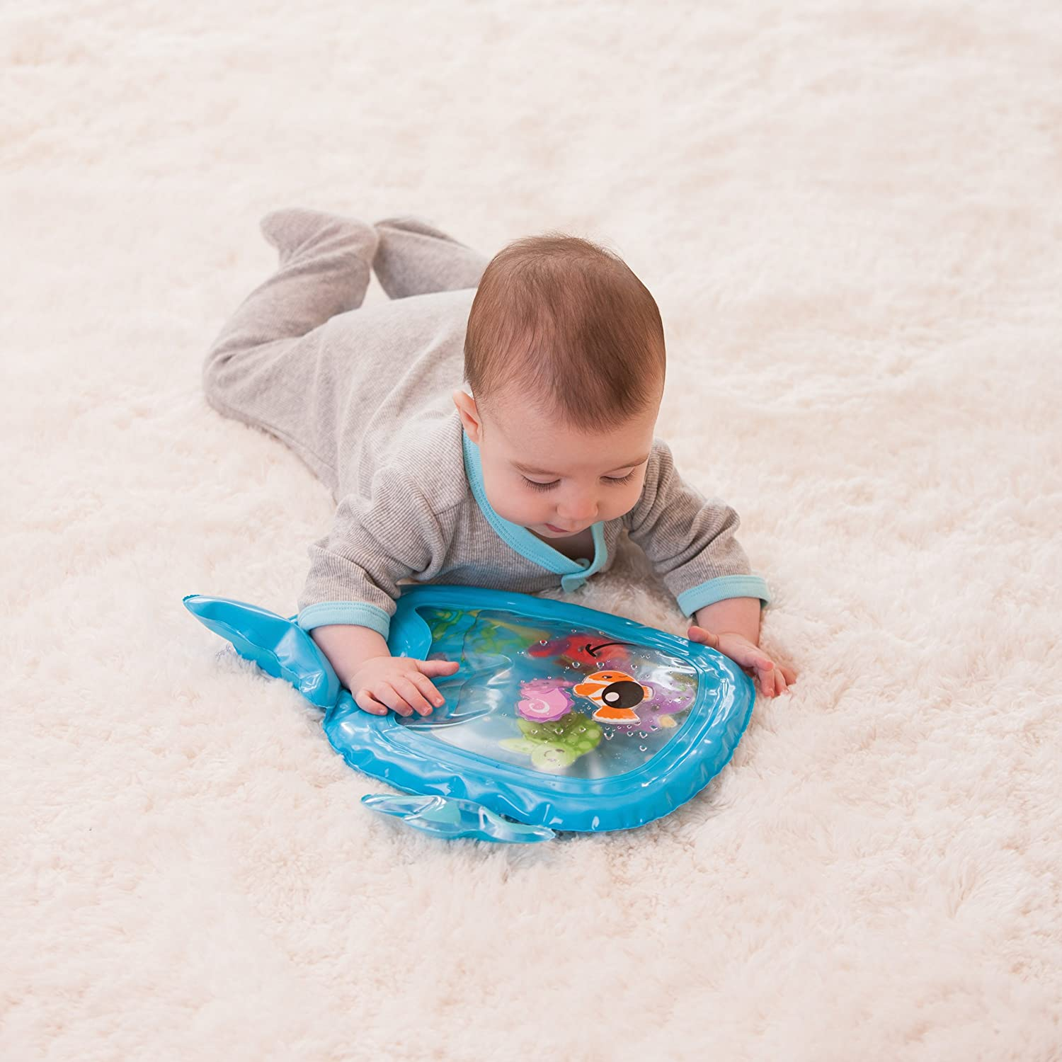 amazon com infantino pat and play water mat baby touch and