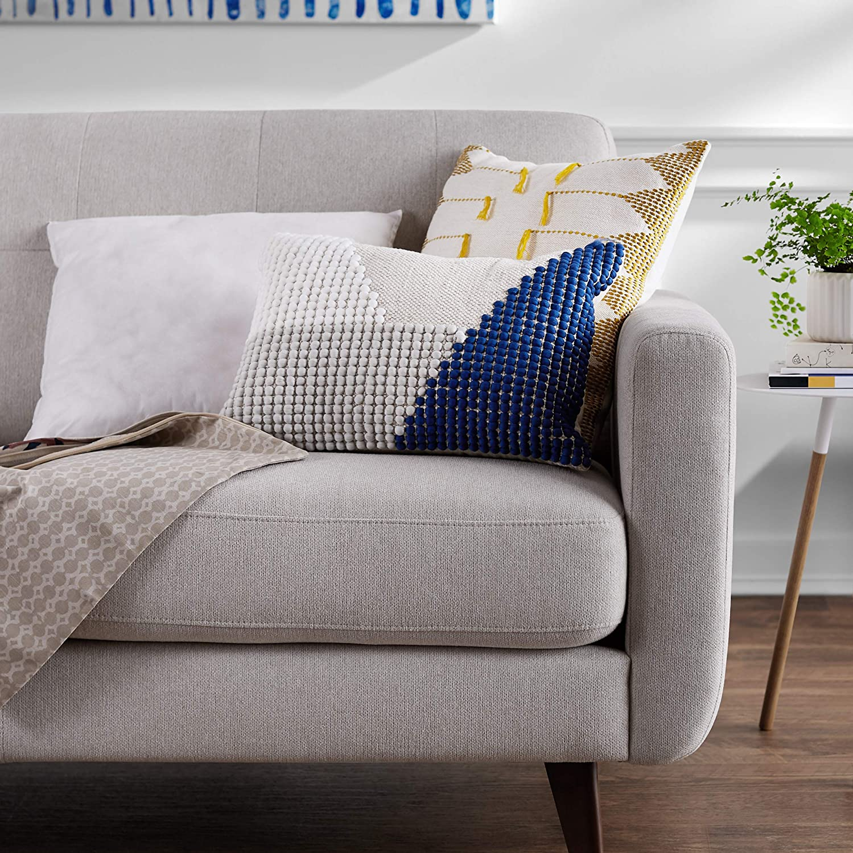2-Pack 2018050312 24-Inch Square Basics Pillow Insert