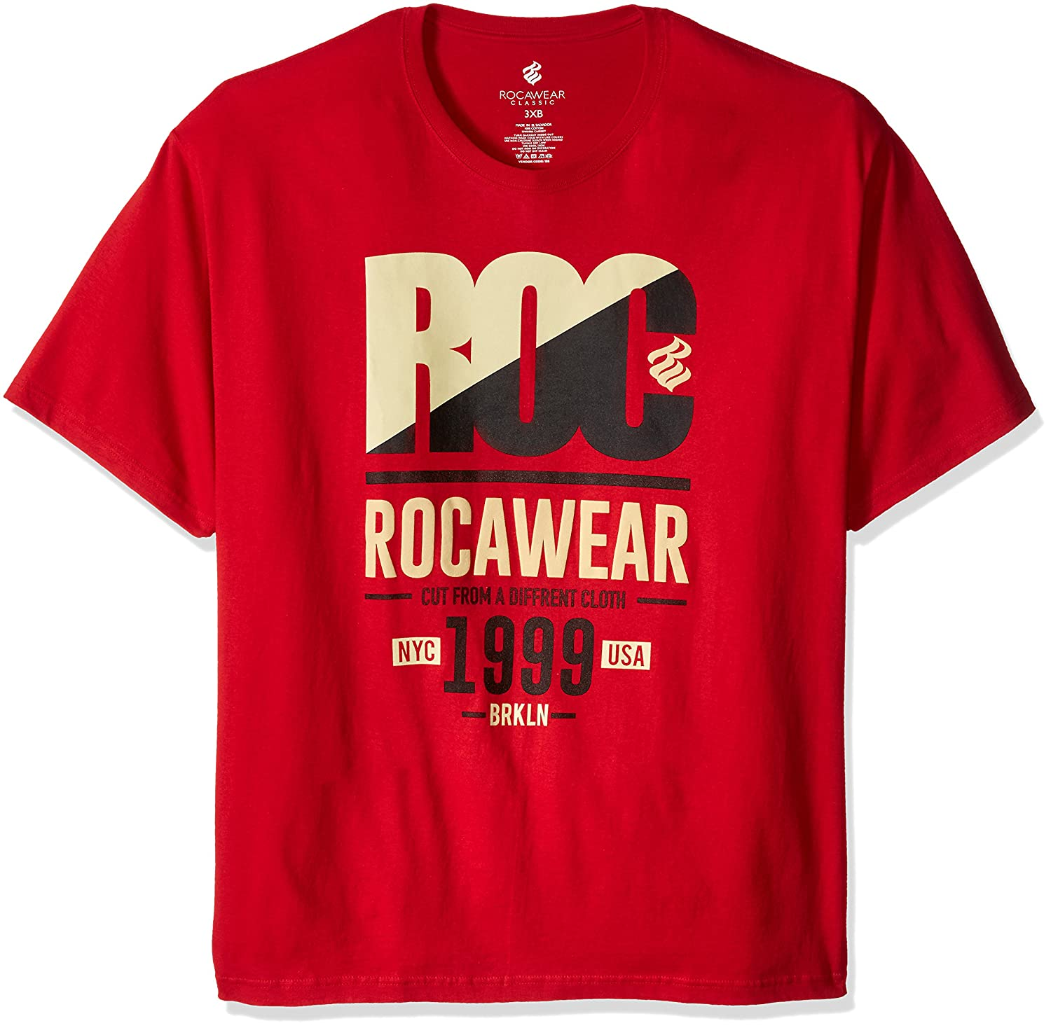 Rocawear Mens Big And Tall Roc 99 Short Sleeve Tee 80OFF