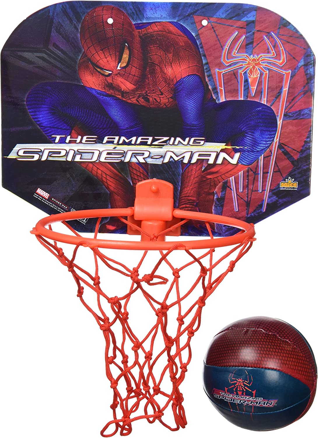 Spiderman - Mini Basket (Saica Toys 8859): Amazon.es: Juguetes y ...