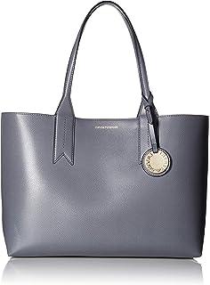 Emporio Armani Spalla galets sac bandoulière noir Black Leather ... be0363cf13e