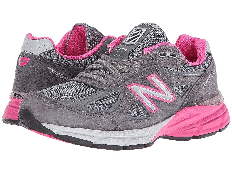 [ニューバランス] レディースランニングシューズスニーカー靴 W990v4 26.5 [並行輸入品] B078G6V89H Grey 26.5 Pink 26.5 cm Pink B 26.5 cm B|Grey Pink, トマトショップ:b5257b50 --- 6530c.xyz