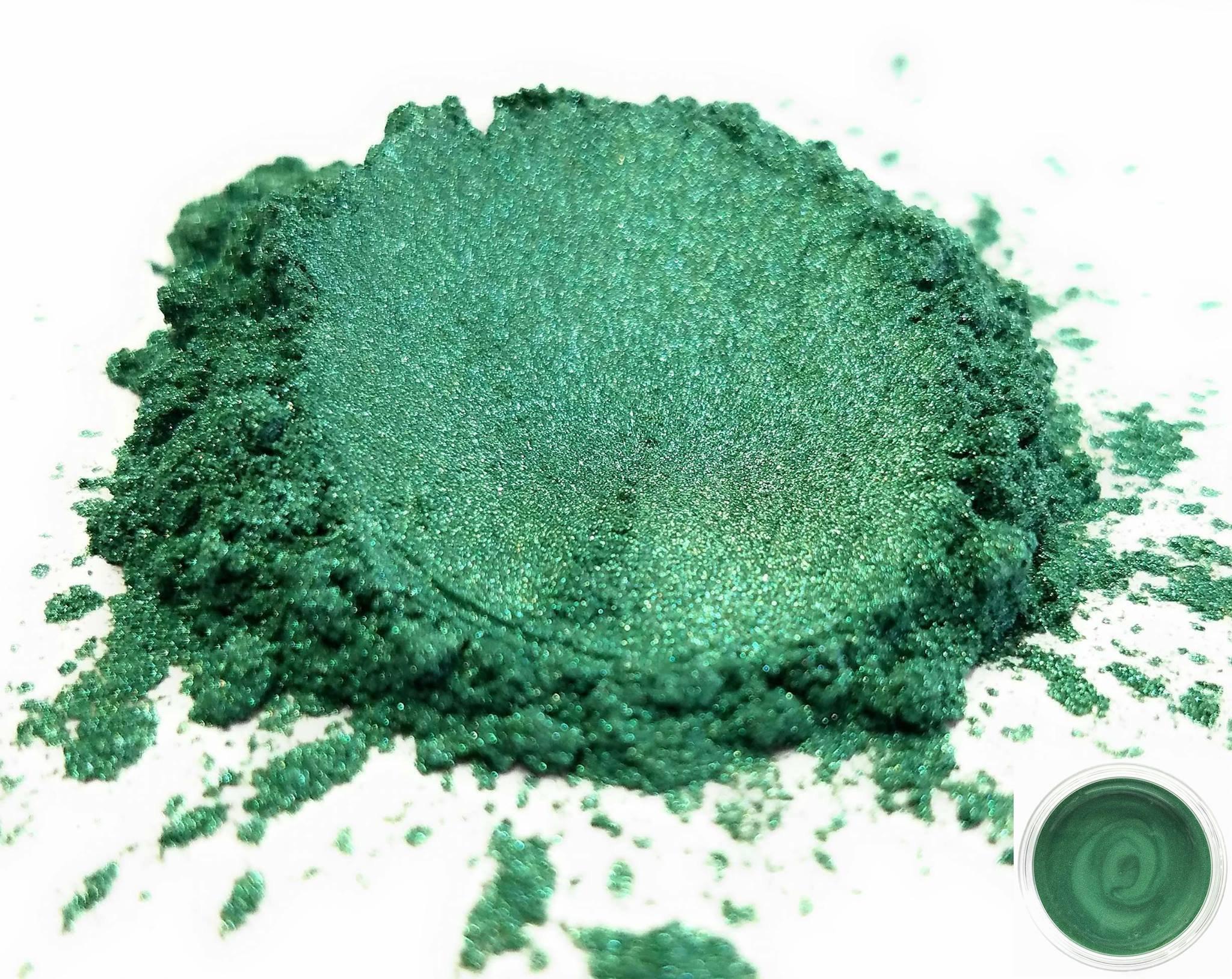 50gr ''Nori Green'' Mica Powder Pigments (Resin, Paint, Epoxy, Soaps, Nail Polish, Liquid Wraps)