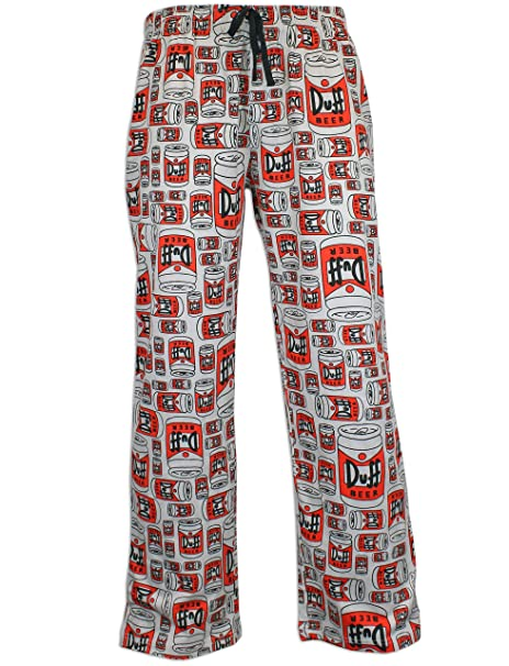 The Simpsons pantalones del pijama para Hombre Los Simpsons - Small