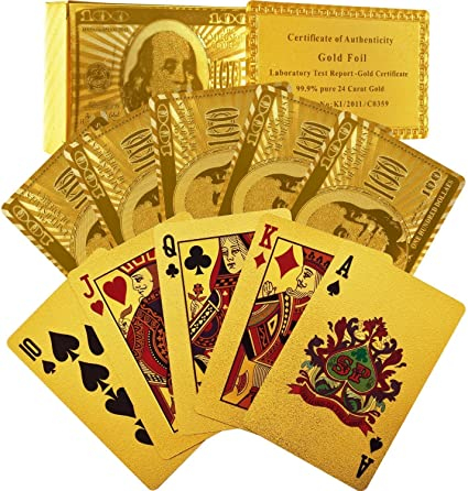 12 decks of $100.00 novelty dollar bill playing cards