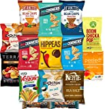 Premium NON GMO & Gluten Free Gourmet Healthy Snacks Gift Box Care Package Variety Pack (15 Count) by Variety Fun
