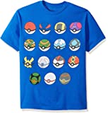 Pokemon Boys' Pokemon Short Sleeve T-shirt