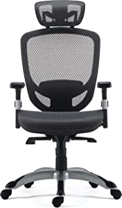 Staples 24328579 Hyken Technical Mesh Task Chair Charcoal Gray