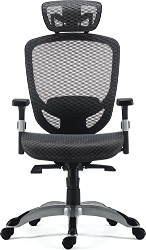 KOVALENTHOR Big and Tall Office Chair 500lbs Wide Seat Executive Desk Chair