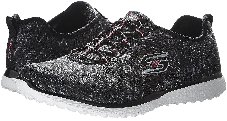 Microburst Womens Skechers Fluctuate On Sneakers Slip qMVGSzjLUp