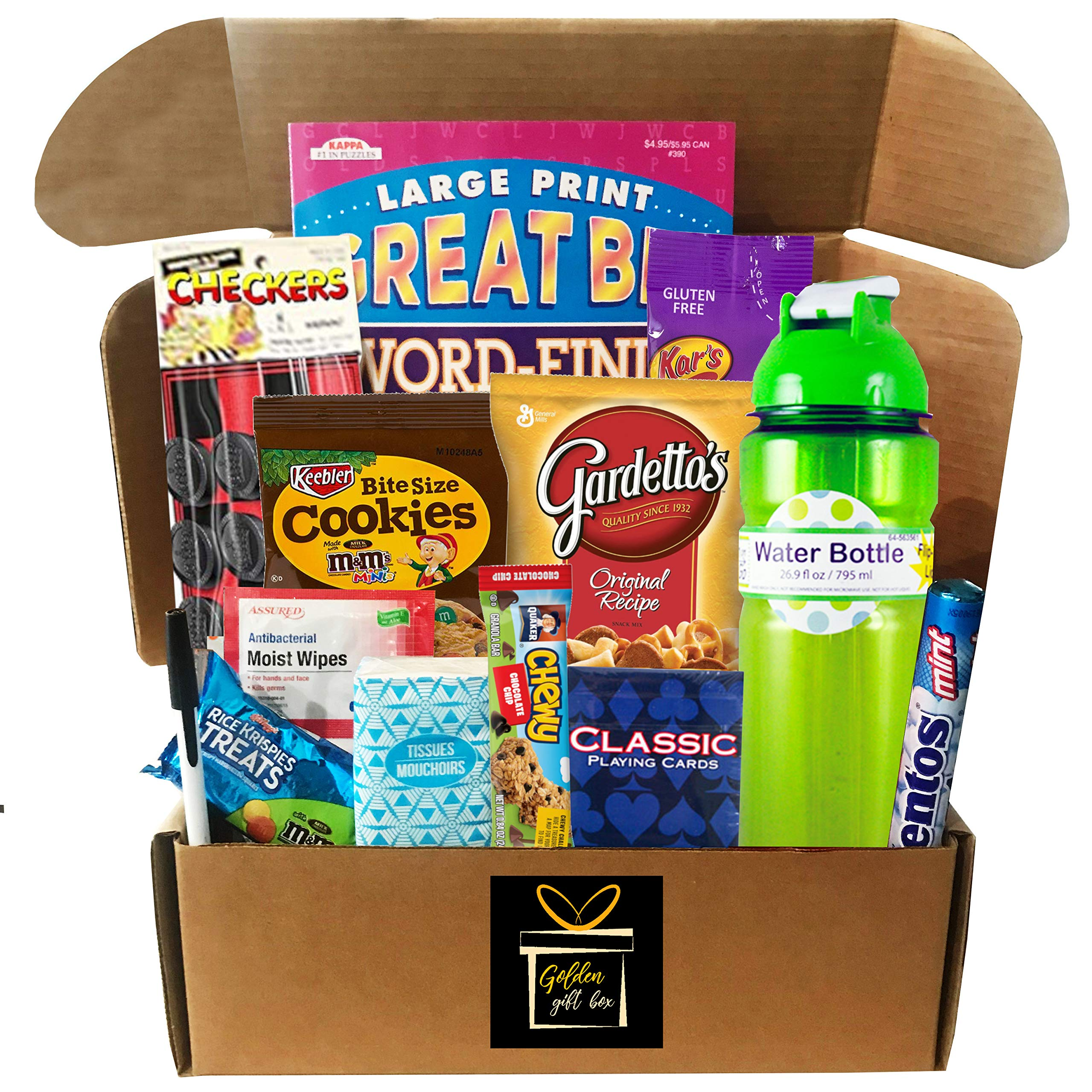 Get Well, Get Well Soon, Get Well Soon Gift, Feel Better, Feel Better Soon, Care Package - Several to Choose From - (Feel Better Soon - For a Person Recovering From Surgery or an Injury) by Golden Gift Box