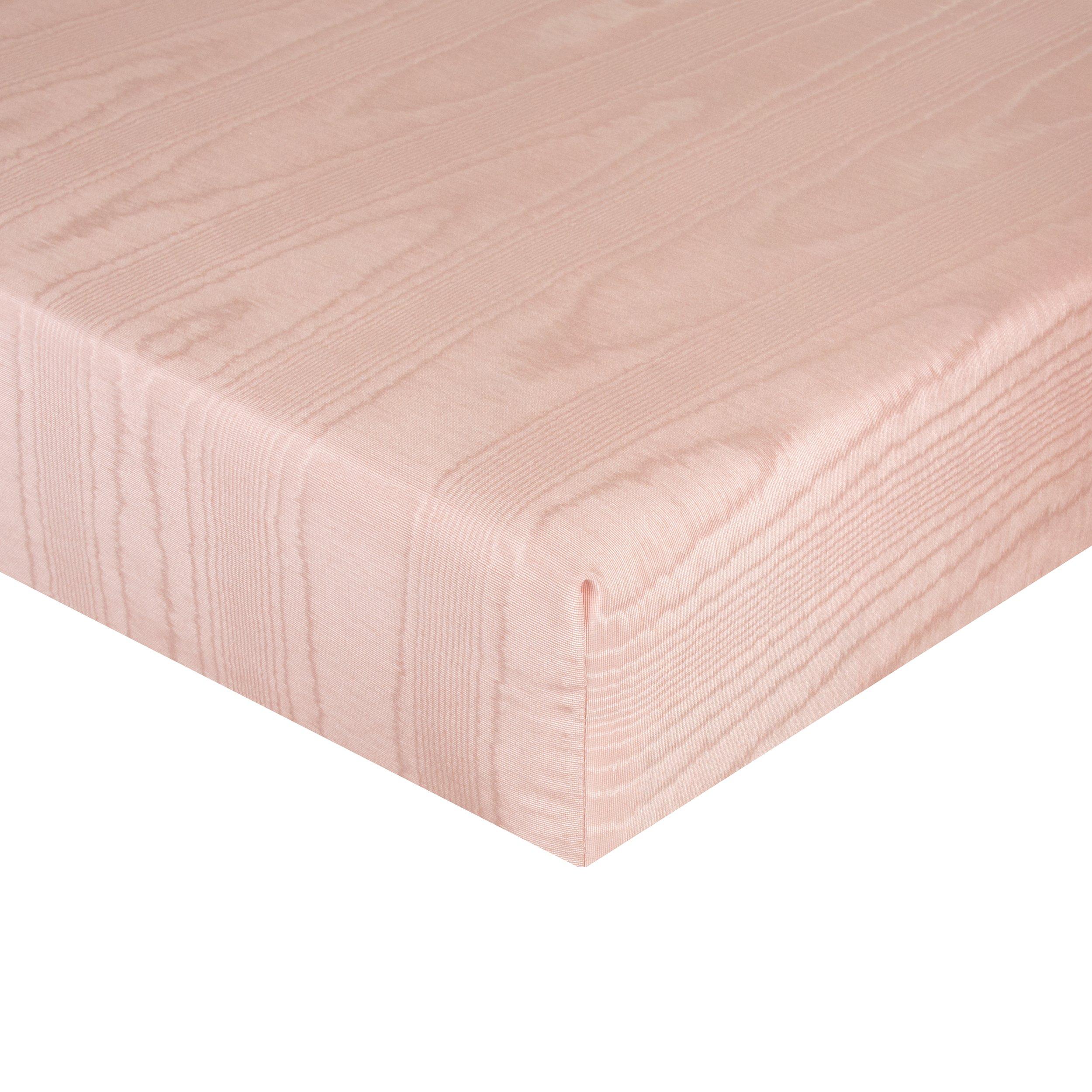 Glenna Jean Remember My Love Mini Crib Fitted Sheet, Pink