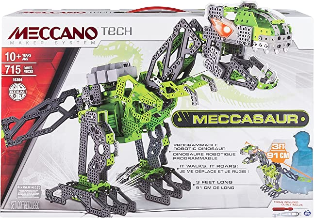078 Meccano Build /& Play Mini Dinosaur PTERODACTYL 2130C New /& Boxed