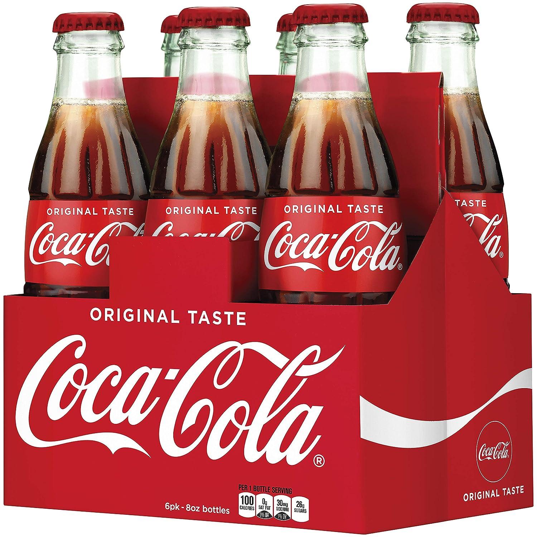 Coca-Cola Soda Soft Drink, 8 fl oz, 6 Pack
