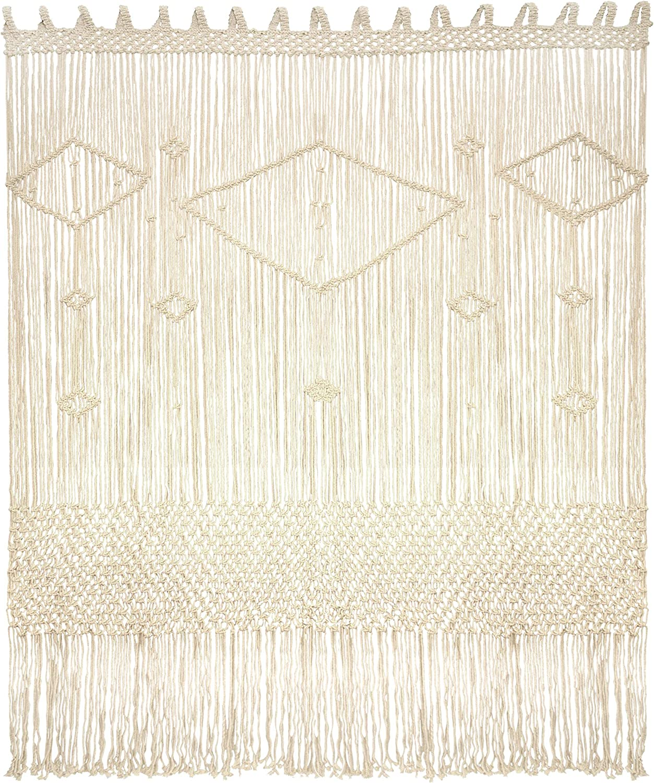 Livalaya Macrame Curtain Large Wall Hanging - 52